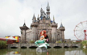 Banksy's Dismaland accused of 'exploiting the Troubles'
