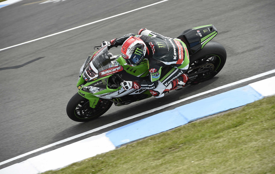 Rea takes his place on top of the racing world