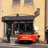 Car crashes into east Belfast restaurant