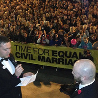 Same-sex wedding held during Belfast's Culture Night