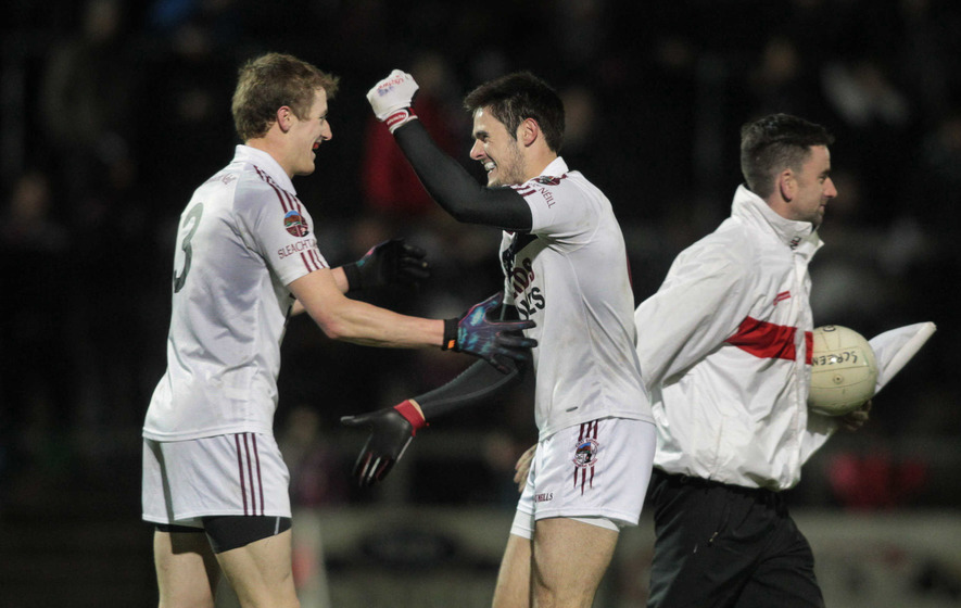 Slaughtneil set up Bellaghy tie with win over Ballinascreen