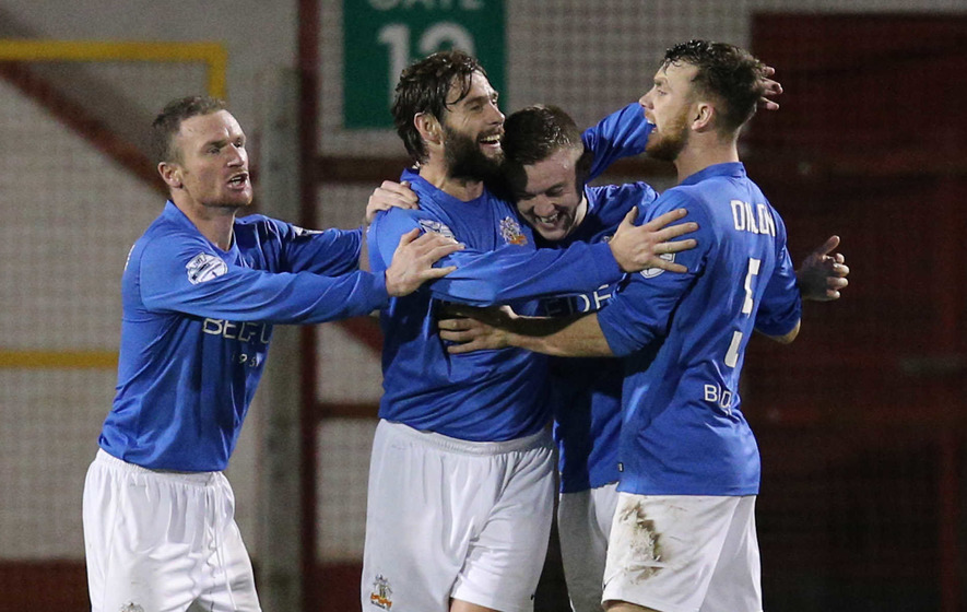 Stalemate at Shamrock Park as Glenavon stage comeback