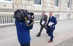 Peter Robinson denies Jamie Bryson Nama claims