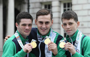 Commonwealth Boxers honoured in Belfast