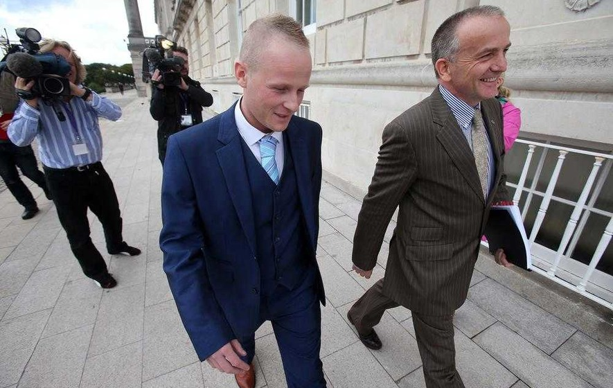 Who is Jamie Bryson's source?