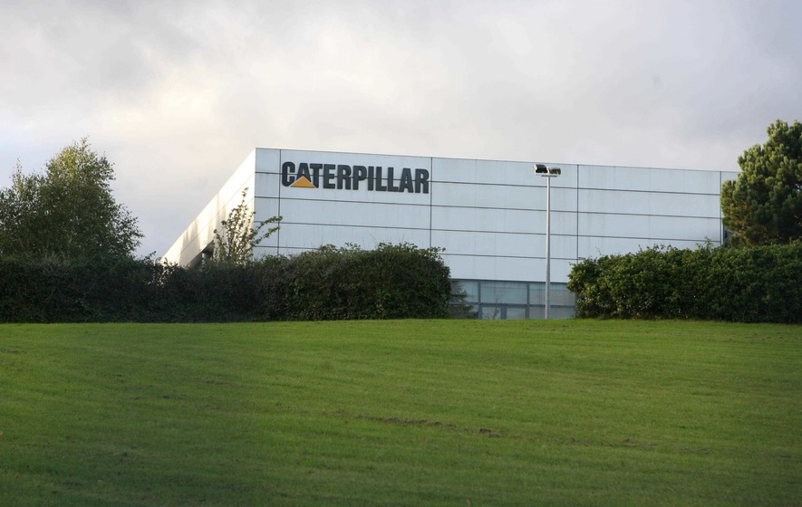 Fears for Caterpillar's west Belfast plant amid job cuts
