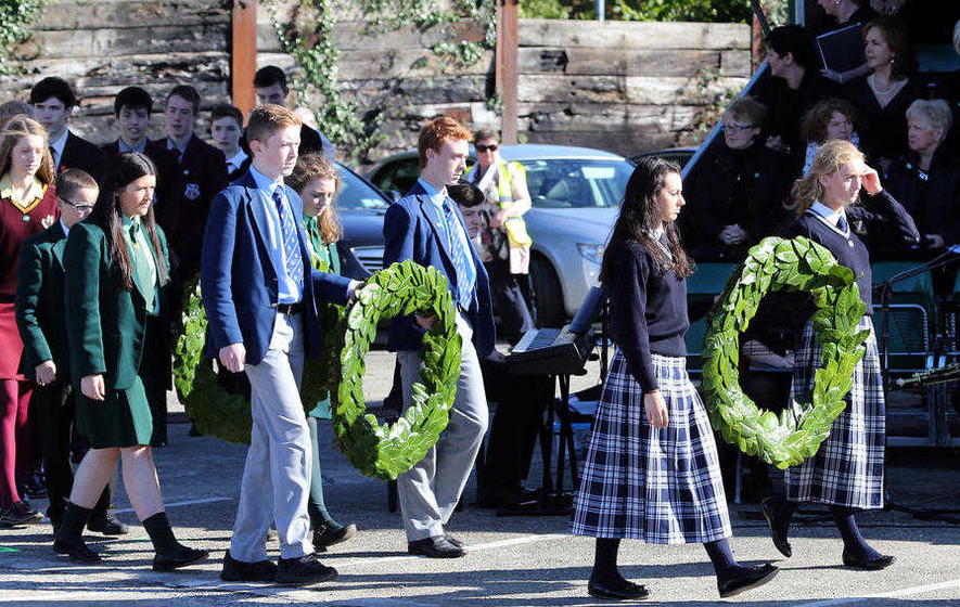 Thousands attend north's first Famine commemoration ceremony