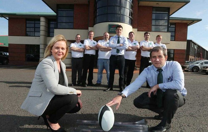 Brett Martin raise the roof for Rugby World Cup - The ...