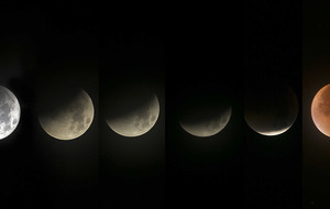 Stargazers across Ireland capture supermoon eclipse