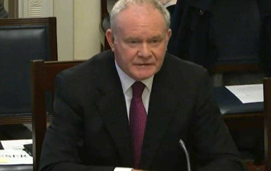 DUP claims holes in McGuinness's Nama account