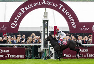Dettori is delirious after his Golden Triomphe in Paris
