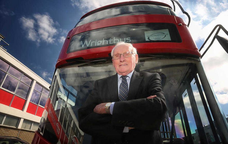 Profits treble at Ballymena bus maker Wrights Group