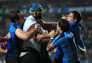 Uruguary finally get their tries but Fiji go home with win