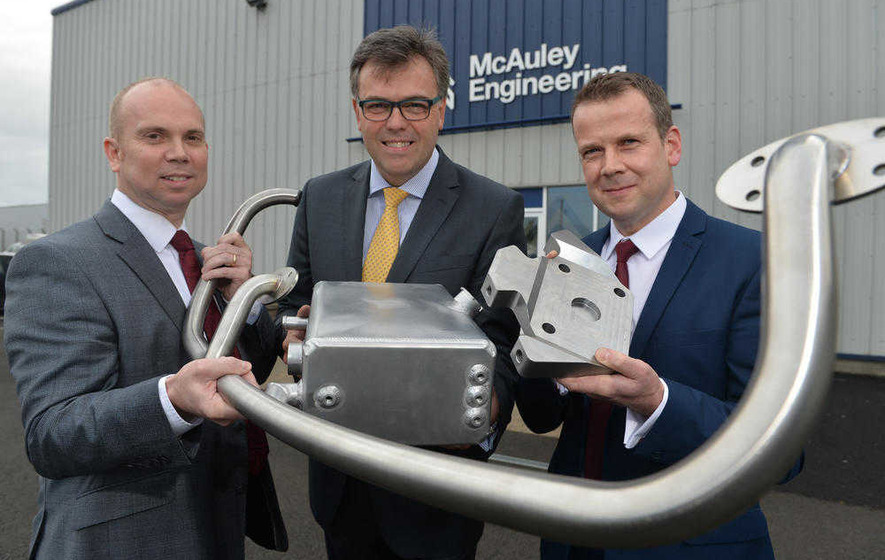 Ballymoney engineering group adds 87 jobs in £5m expansion - The Irish News