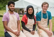 Final Bake Off battle for Tamal, Nadiya and Ian