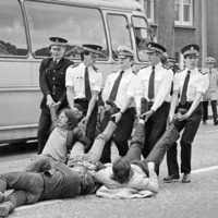 Exhibition tells story of miners' strike in stark images