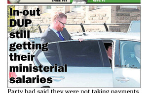 Embarrassment for Gregory Campbell over ministers' pay