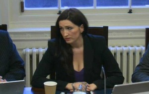 Nama: DUP's Emma Pengelly denies 'conflict of interest'