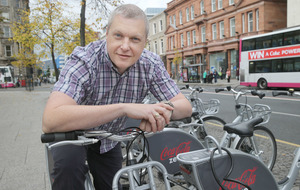 Belfast bike hire scheme hits the 100,000 landmark