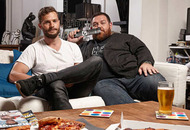 Snuggle up on the sofa with Jamie Dornan for Gogglebox