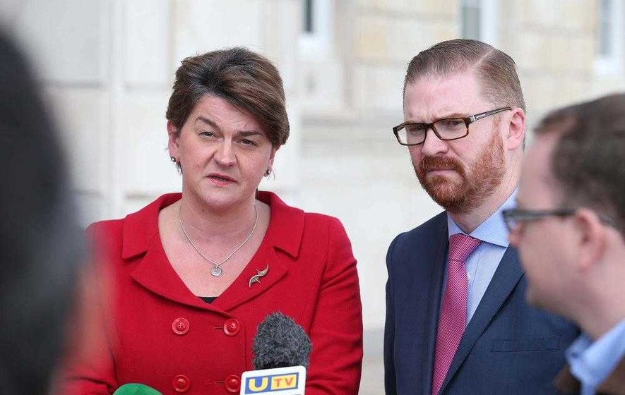 DUP's Arlene Foster says 'in-out' policy could end after IRA report