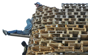 Council admits funds for loyalist bonfire pallets was mistake
