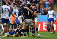 Scotland book quarter-final place with nervy Samoa win