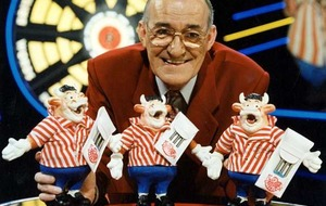 Despite darts upgrade Jim Bowen's still going strong