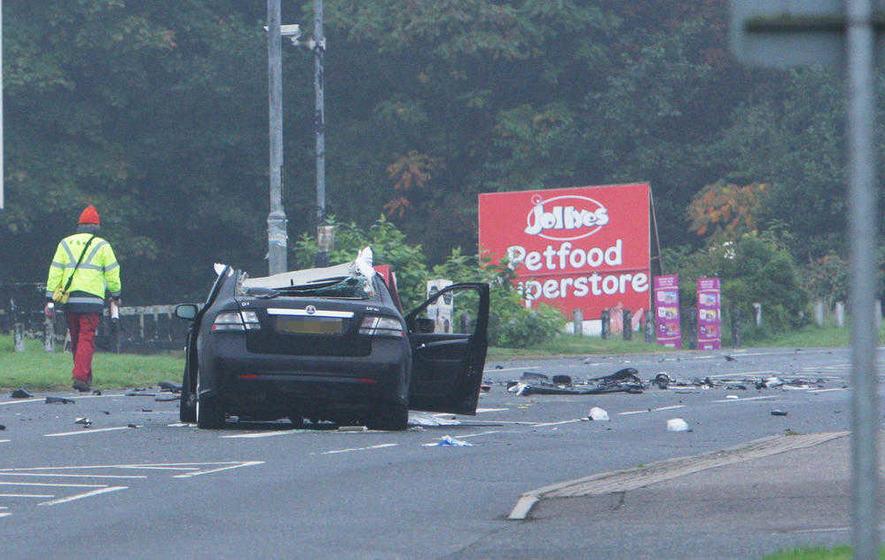 Off-duty police officer arrested over fatal Omagh crash ...