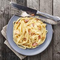 Recipes for freshers: pasta carbonara