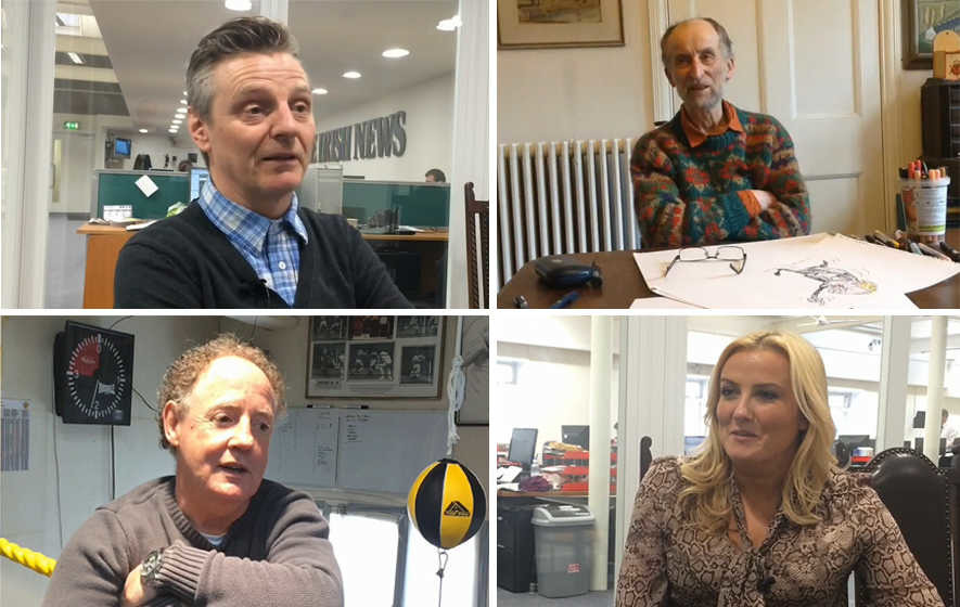 Irish News video diaries: An insight into the people behind the stories