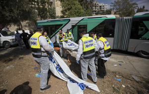 Four dead after two attacks in Jerusalem as tensions increase