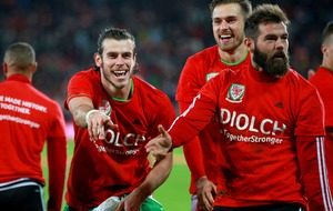 Ramsey & Bale get Wales' party started on right note