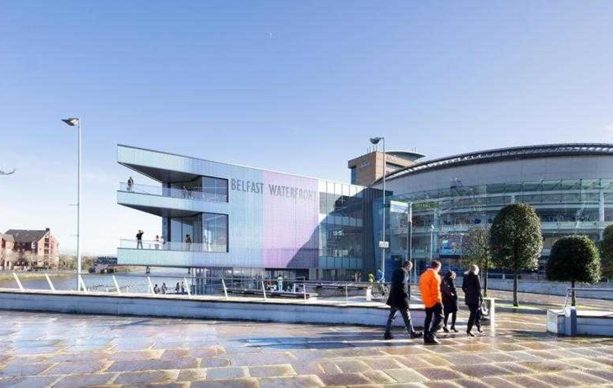 Countdown begins to 'curtain-up' at new-look £29.5m Waterfront Hall
