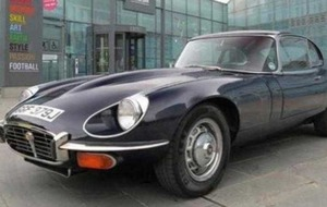George Best's Jaguar fetches £43k at auction