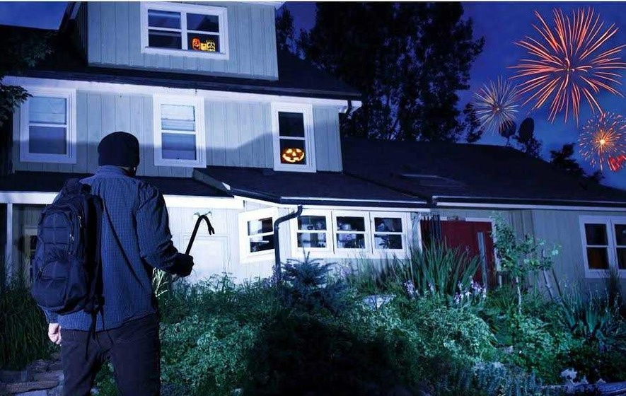 Here's how to secure your home against thieves at Halloween