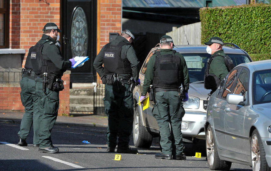 'IRA' claim bomb was to kill British soldier visiting Belfast