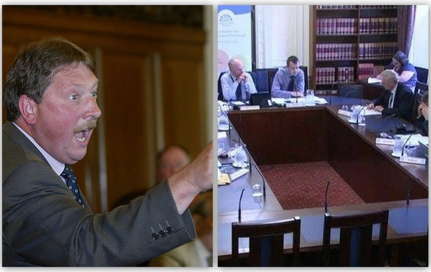 Wilson blasts Nama committee a 'laughing stock'