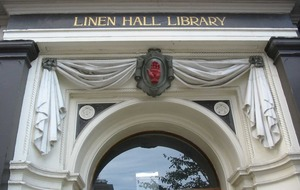 Linen Hall Library undergoes deep clean ahead of easing of Covid-19 restrictions