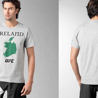 UFC Dublin t-shirt leaves north out of Ireland map