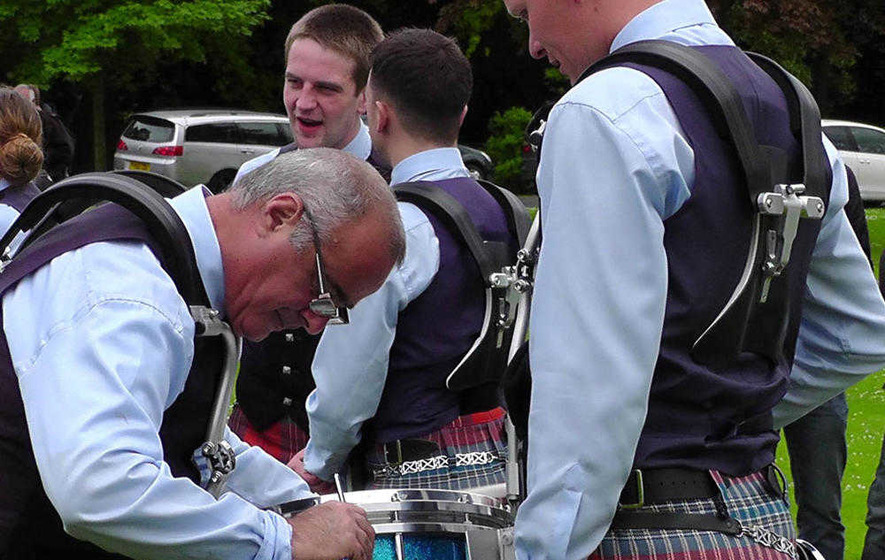 Drum champ Kilpatrick at centre of major furore at Shotts