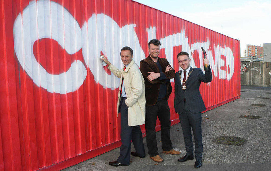 Shipping container 'village' set to regenerate forgotten space