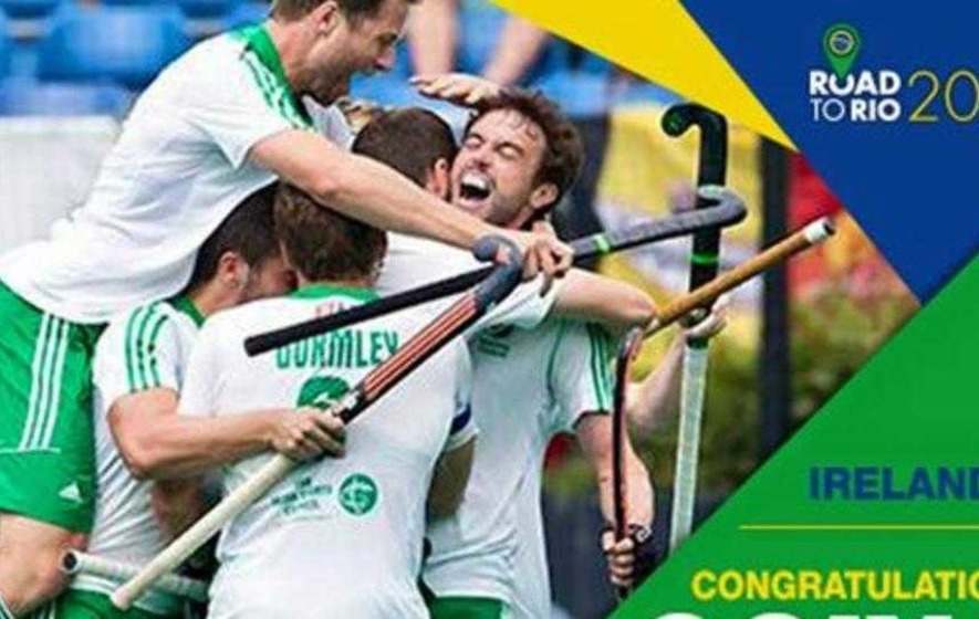 Ireland's men end 108-year wait for Olympic hockey place