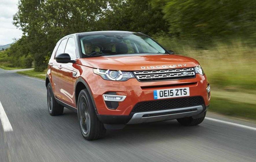 Land Rover's new family Disco