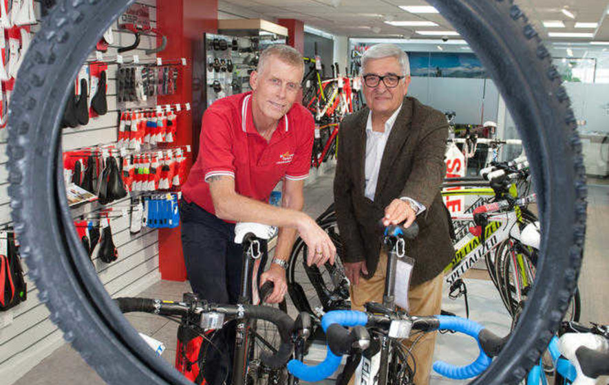 ALD rides into retail with McConvey Cycles fit-out deal