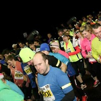 Runners gear up to run in the dark for spinal injuries charity