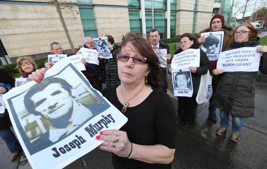 Bullet found in exhumed Ballymurphy victim's body