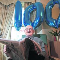 Irish News reader Paddy has 100 reasons to celebrate