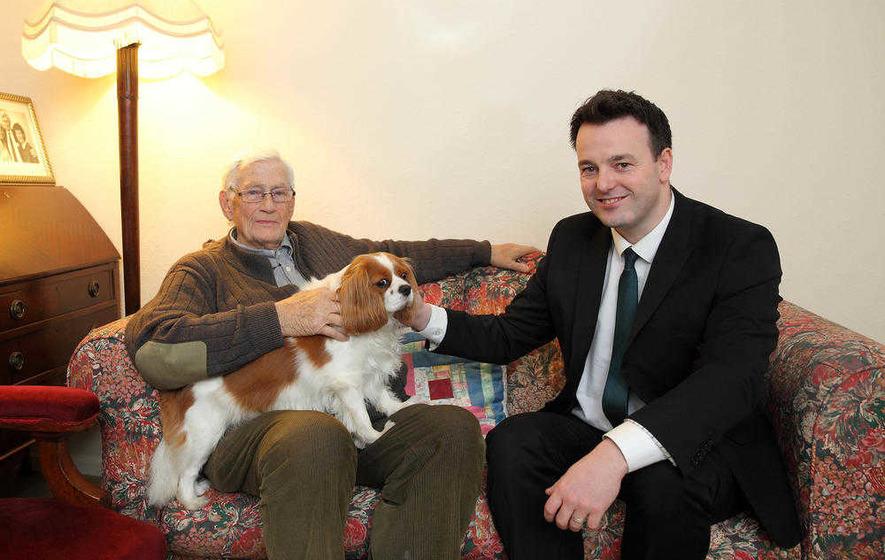 Seamus Mallon backs Colum Eastwood for SDLP top job