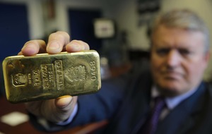 Smuggled gold goes under the hammer in Belfast